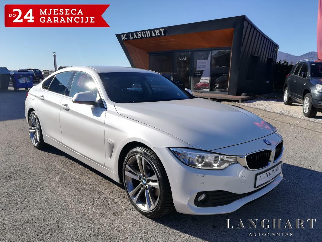 BMW 420d Gran Coupe,Automatik,Xenon,Navi,Alu 18,reg.09/2020.g.,GARANCIJA DO 2 GOD.