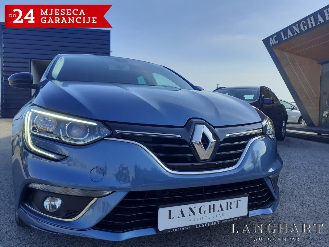 Renault Megane TCE100,Navigacija,Led,1vlasnik,33.630km,Servisna,kupljen u HR.