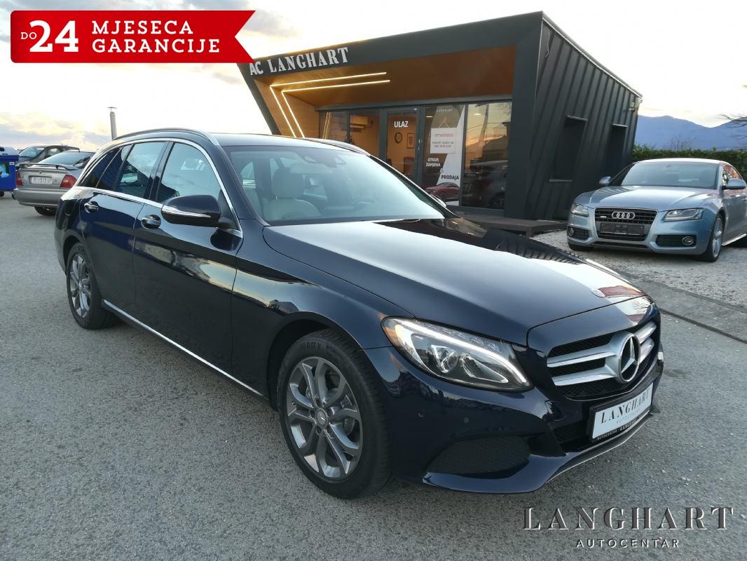 Mercedes C220 T Avantgarde,1.vl.,servisna.NAVi,alu 17,LED,GARANCIJA
