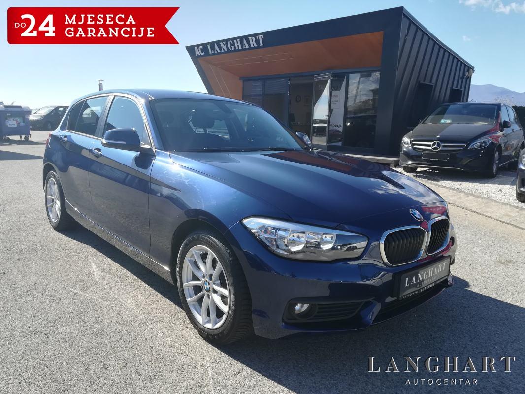 BMW 116 d,1.vl.,servisna, LED,NAVI,ALU,GARANCIJA