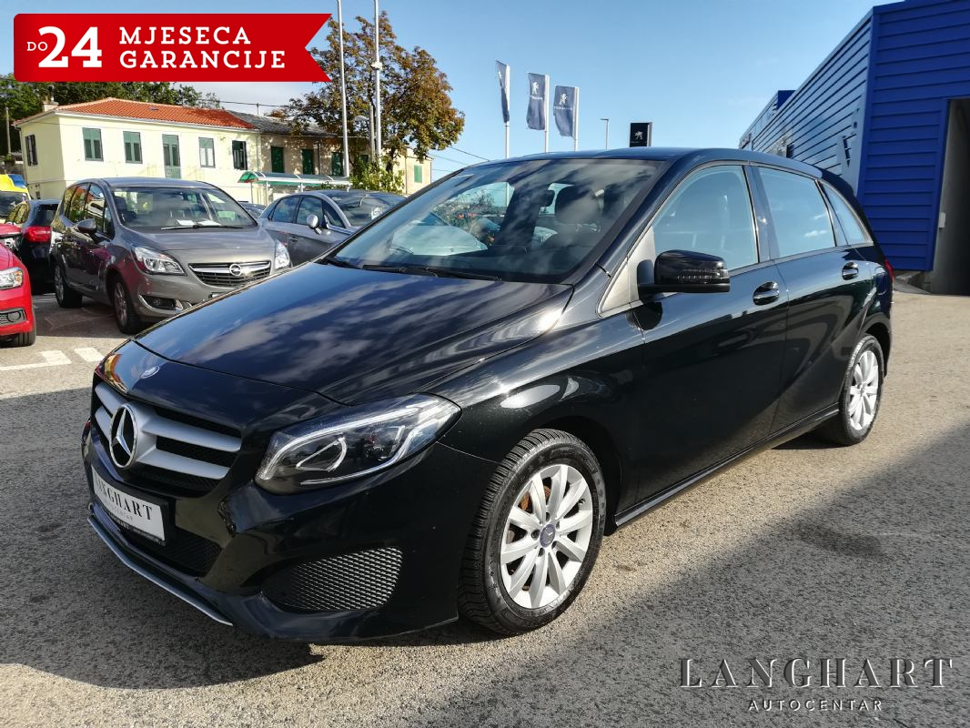 Mercedes B 180 d Facelift,1.vl.,servisna,NAVI,LED,,ALU,GARANCIJA