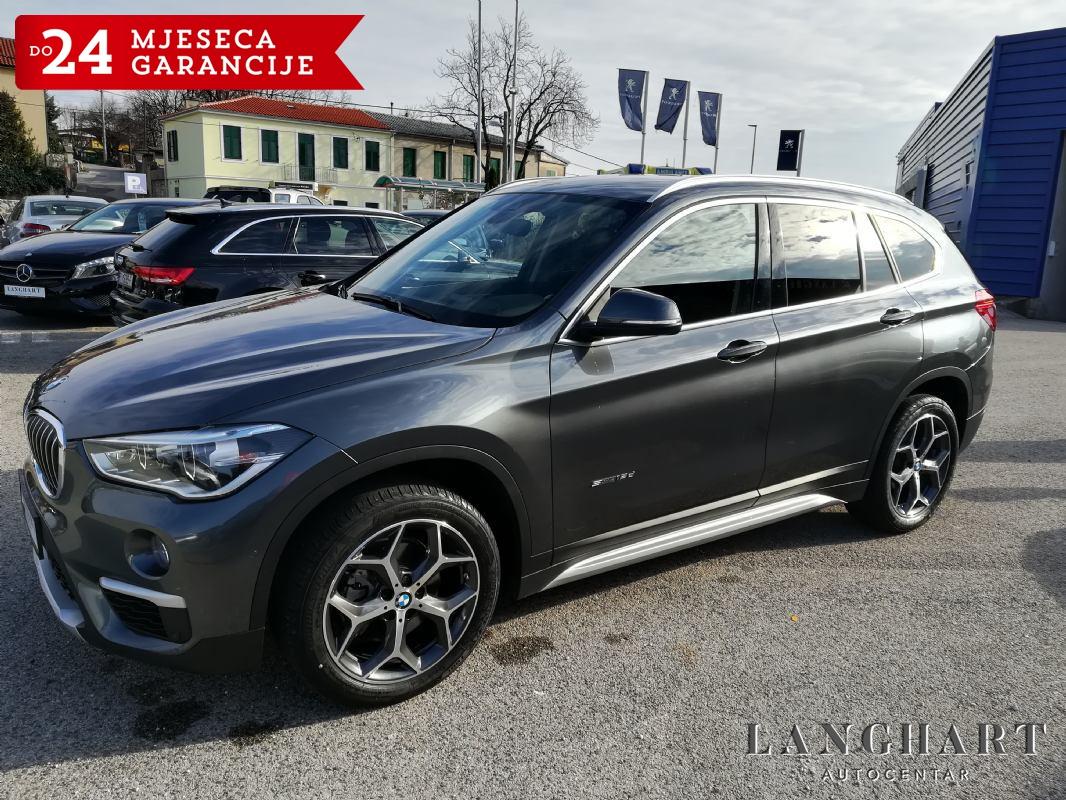 BMW X1 18d,x-Line,automatik,Led,Navi,Koža,1vlasnik,75.300km,Servisna