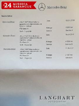 MERCEDES CLA 200 D URBAN,1.VL.,SERVISNA,LED,KUPLJEN U HR,GARANCIJA