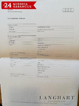 AUDI A3 1.6 TDI DSG SPORTBACK STYLE,1.vl.,servisna,bixenon,kupljen u HR,GARANCIJA