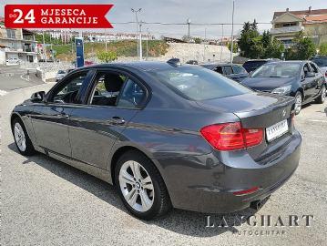 BMW 320 D SPORT,AUTOMATIK,SERVISNA,BIXENON,REG.01/2020.G.,KUPLJEN U HR
