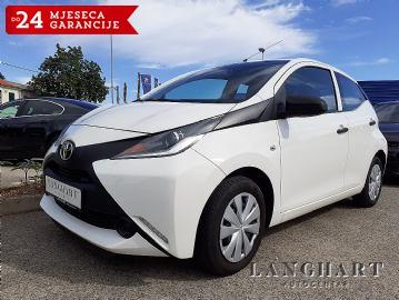 Toyota Aygo 1.0 VVTI,Klima,20.000km,kupljen u HR.reg.do 11/2020