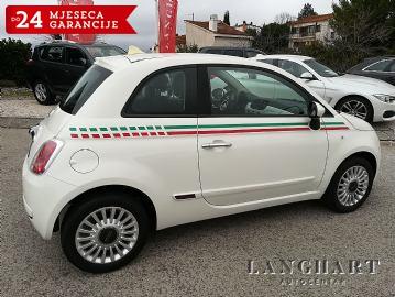 Fiat 500 1.2 8V,kupljen u HR,samo 41.000 km,servisna