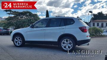 BMW X3 sDrive18d, 1.vl., servisna, 65.900 km, NAVI, GARANCIJA DO 24 MJ