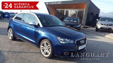 Audi A1 1.6 TDI,S-Line,koža,alu17,reg.do 05/2018,Garancija do 24 mjeseci
