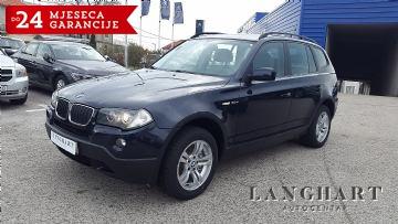 BMW X3 2.0D xDrive,Automatik,koža,Servisna,kupljen u HR.reg.do 21.03.2018