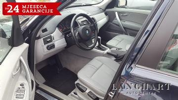 BMW X3 2.0D xDrive,Automatik,koža,xenon,alu,Servisna,kupljen u HR.