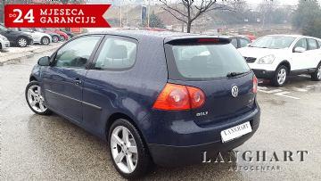 VW Golf V 2.0 TDI 140 KS,servisna, alu 17, kupljen u HR