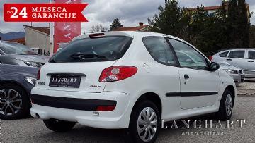 Peugeot 206+ 1.4 HDI,Klima,reg.do 28.09.2018
