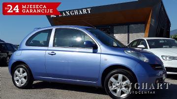 Nissan Micra 1.4 SX,Automatska-klima,alu,reg.do 03/2019