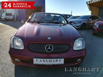 Mercedes SLK 320 V6 cabrio, servisna, koža, alu, zamjena