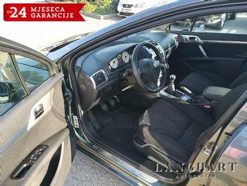 Peugeot 407 Sport 2.0 HDI 16V, dvozonska-Klima, alu 17, kupljen u HR.