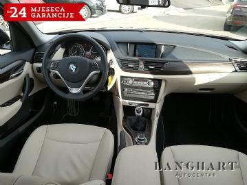 BMW X1 s-Drive 1.8d X-line,1.vl.,servisna,koža,navi,alu 17,GARANCIJA