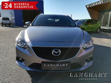 Mazda 6 CD 150,Challenge,1.vl.servisna,Bi-xenon,NAVi,Alu,GARANCIJA do 24 MJESECA