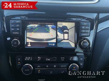 Nissan Qashqai 1.5 DCI,servisna,LED,koža,alu 19,360° kamere,reg.06/2019.g.