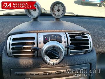 Smart City Coupe 1.0,servisna,klima,alu,panorama,reg.11/2019.g.
