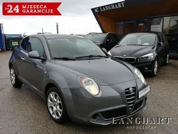 Alfa Romeo Mito 1.3 JTD,137.740 km,Servisna,reg.do 24.10.2019,Garancija do 24 mjeseci