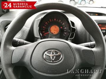 Toyota Aygo 1.0,Klima,1vlasnik,Servisna,kupljen u HR.reg.do 28.06.2019