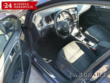 VW Golf 1.6 TDI Lounge,81 KW,1.vl.servisna,navi,kuka,alu 16,GARANCIJA
