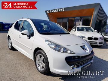 Peugeot 207 1.4 VTI Sport,1.vl.,servisna,panorama,alu,kupljen u HR
