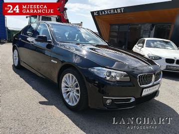 BMW 520 D Luxury line,1.vl.,servisna,FULL OPREMA,Garancija