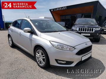Ford Focus 1.5 CDTi 105 KS, 1.vl., servisna, NAVI, GARANCIJA