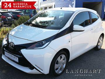 Toyota Aygo 1.0,Klima,1vlasnik,Servisna,kupljen u HR.reg.do 03/2020