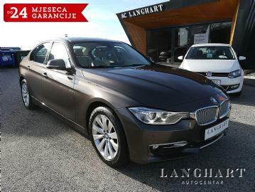 BMW 318 d Modern Line,servisna,koža,professional navigacija,xenon,alu 17