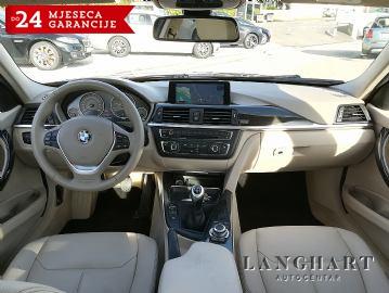 BMW 318 d Modern Line,servisna,koža,professional navigacija,xenon,alu 17,GARANCIJA