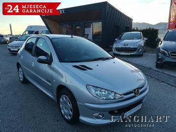 Peugeot 206 1.4+LPG,Klima,5vrata,reg.do 07/2020